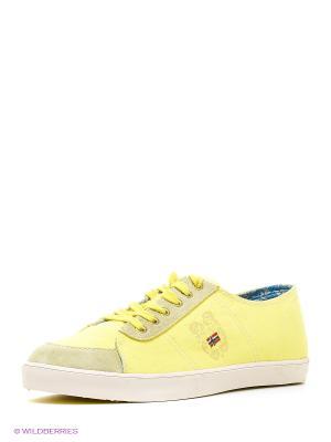 Кеды NAPAPIJRI. Цвет: желтый