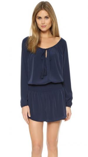 Платье Aklar Rory Beca. Цвет: темно-синий