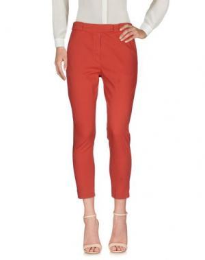 Повседневные брюки ANNARITA N.. Цвет: кирпично-красный