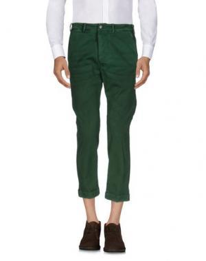 Повседневные брюки (+) PEOPLE. Цвет: зеленый