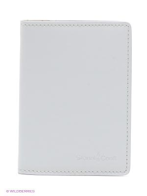 Обложка для паспорта Gianni Conti. Цвет: светло-серый