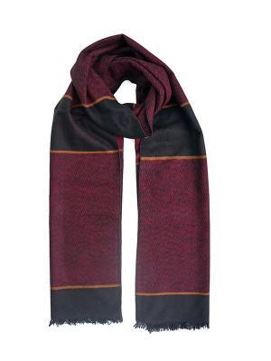 Мужской шарф LANYINGDI ША-27 30*180 100% шелк. Цвет: красный, рыжий, черный