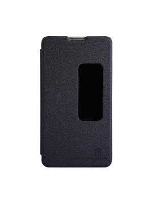 Чехол  Huawei Mate 2 Sparkle Leather Case Nillkin. Цвет: черный