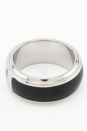 Кольцо Joop!. Цвет: сталь, черный