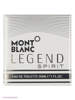 Туалетная вода Montblanc  ONTBLANC LEGEND SPIRIT FOR MEN EDT SPRAY 30 ML. Цвет: прозрачный
