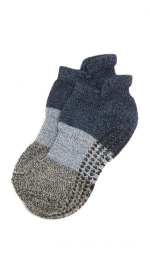 Носки Naomi Cushioned Grip Pointe Studio. Цвет: индиго/бирюзовый