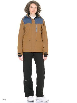 Куртка Icepeak. Цвет: бежевый