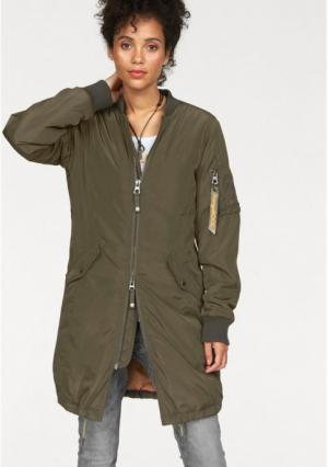 Куртка Kangaroos. Цвет: хаки