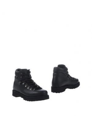Полусапоги и высокие ботинки DIEMME. Цвет: черный