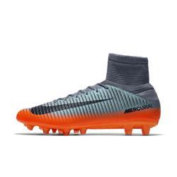 Футбольные бутсы для игры на искусственном газоне  Mercurial Veloce III Dynamic Fit CR7 AG-PRO Nike. Цвет: серый