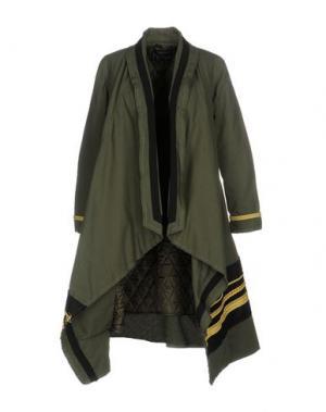 Пальто NORA BARTH. Цвет: зеленый-милитари