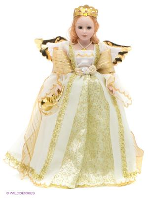 Кукла фарфоровая Монна Lisa Jane. Цвет: золотистый, кремовый