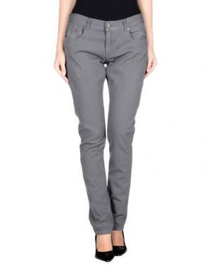Джинсовые брюки HЁLLS BЁLLS. Цвет: серый