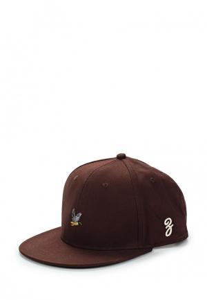 Бейсболка Запорожец Heritage. Цвет: коричневый