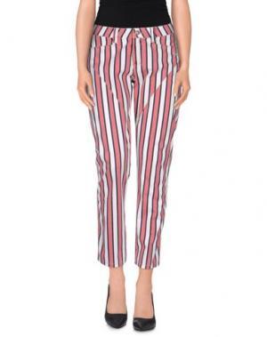 Повседневные брюки 9.2 BY CARLO CHIONNA. Цвет: коралловый