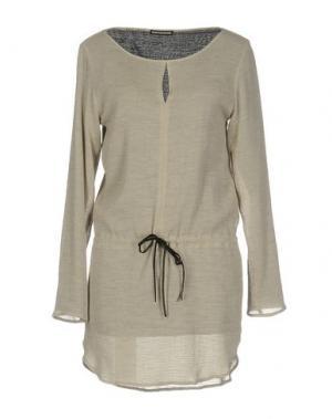 Короткое платье DRYKORN. Цвет: серый