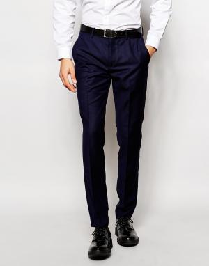 Vito Супероблегающие брюки. Цвет: синий
