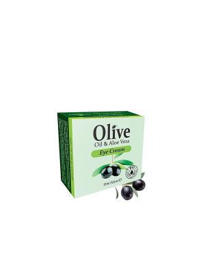 Герболив крем против морщин для области вокруг глаз, 15мл Madis S.A.. Цвет: оливковый