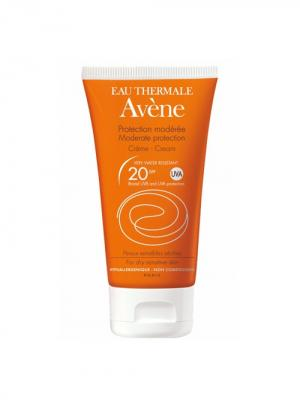 Avene Suncare, солнцезащитный крем SPF 20, 50 мл. Цвет: рыжий
