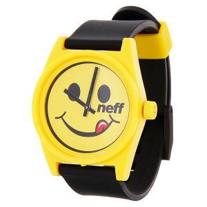 Часы  Daily Smil Neff. Цвет: черный,желтый