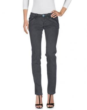 Джинсовые брюки FIRETRAP. Цвет: серый