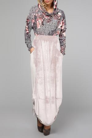Платье Kata Binska. Цвет: светло-бежевый