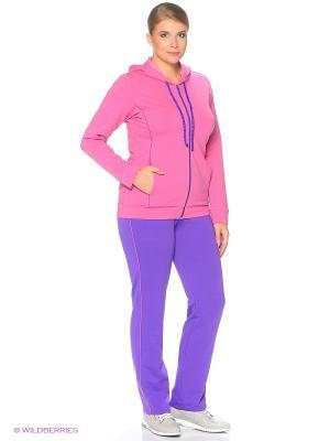 Спортивный костюм FORLIFE. Цвет: фиолетовый