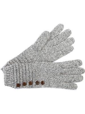 Перчатки J&Elisabeth. Цвет: светло-серый