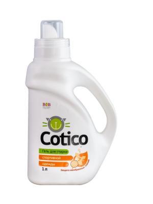 Cotico Гель для стирки спортивной одежды 1л B&B. Цвет: белый