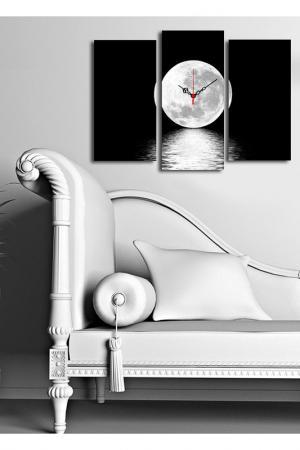 Декоративные настенные часы. Clock art. Цвет: черный