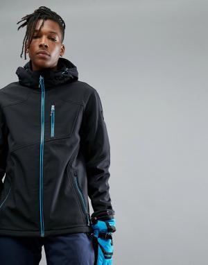 Killtec Куртка с капюшоном Horaz. Цвет: черный