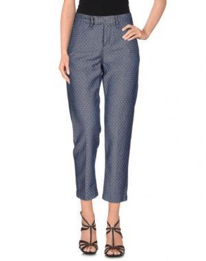 Джинсовые брюки HAIKURE. Цвет: темно-синий