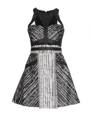 Короткое платье THREE FLOOR. Цвет: черный