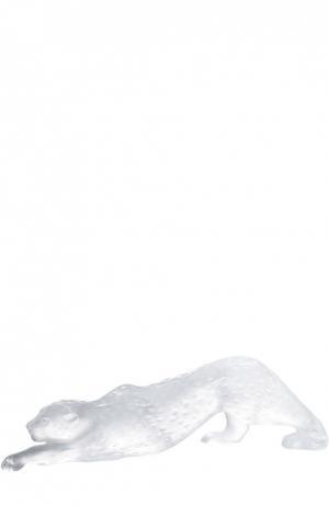 Скульптура Zeila Panther Lalique. Цвет: бесцветный