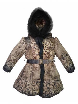 Пальто BORELLI. Цвет: коричневый
