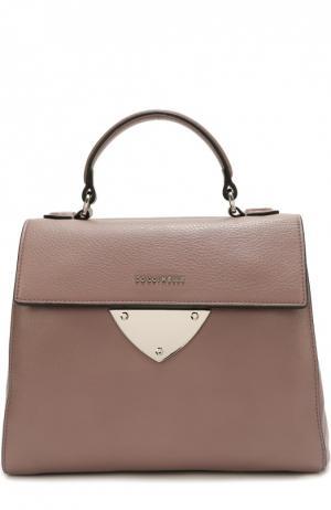 Кожаная сумка B14 Coccinelle. Цвет: розовый
