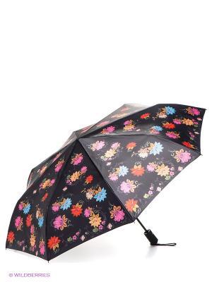 Зонт Flioraj. Цвет: черный, голубой, красный, розовый
