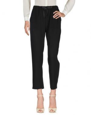 Повседневные брюки BLANCA. Цвет: черный