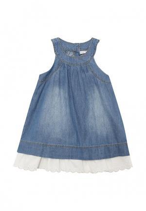 Платье джинсовое Name It. Цвет: синий
