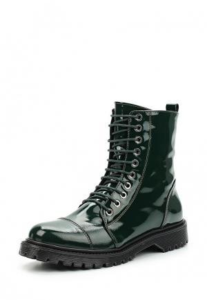 Ботинки Bronx. Цвет: зеленый