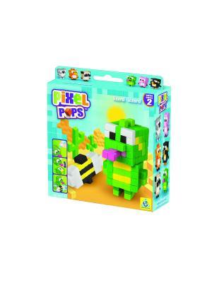 The ORB Factory. Pixel Pops Игрушка Ящерица factory. Цвет: зеленый, желтый, черный