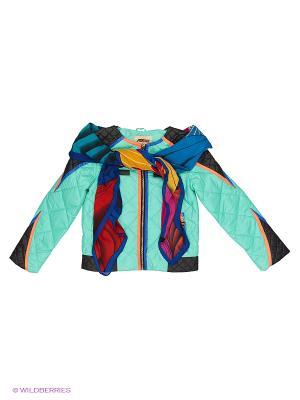 Куртка Fobs. Цвет: лазурный