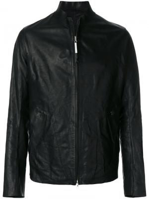 Zipped leather jacket Isaac Sellam Experience. Цвет: чёрный