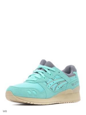 Спортивная обувь GEL-LYTE III ASICSTIGER. Цвет: салатовый