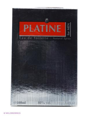 FOR MEN PLATINE EDT 100ML SPRAY CHRISTINE DARVIN. Цвет: прозрачный
