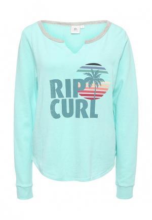 Свитшот Rip Curl. Цвет: мятный
