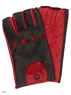 Перчатки MERCEDES-BENZ. Цвет: черный, красный