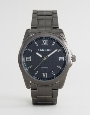 Kangol Часы серого металлического цвета. Цвет: серебряный