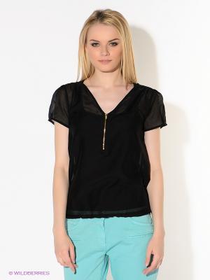 Блузка American Outfitters. Цвет: черный