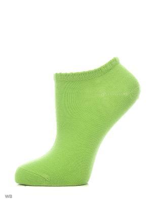 Носки, 6 пар Oodji. Цвет: темно-зеленый, желтый, коралловый